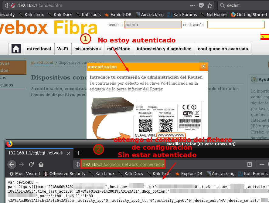 Cuatro brechas en Livebox Fibra (orange y jazztel